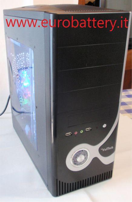 Pc case atx vultech gs2681 500w ventola a led colorati ebay for Case pc colorati