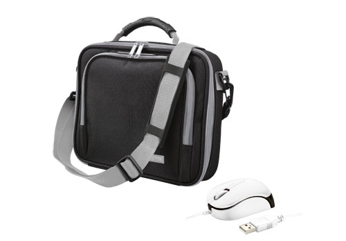 TRUST Borsa Bag + Mini MOUSE Bundle Netbook PC 16744