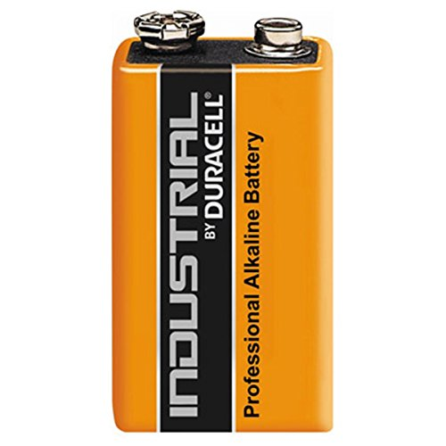 Batteria Alcalina Manganese DURACELL 9V 6LF22 MN1604 industriale