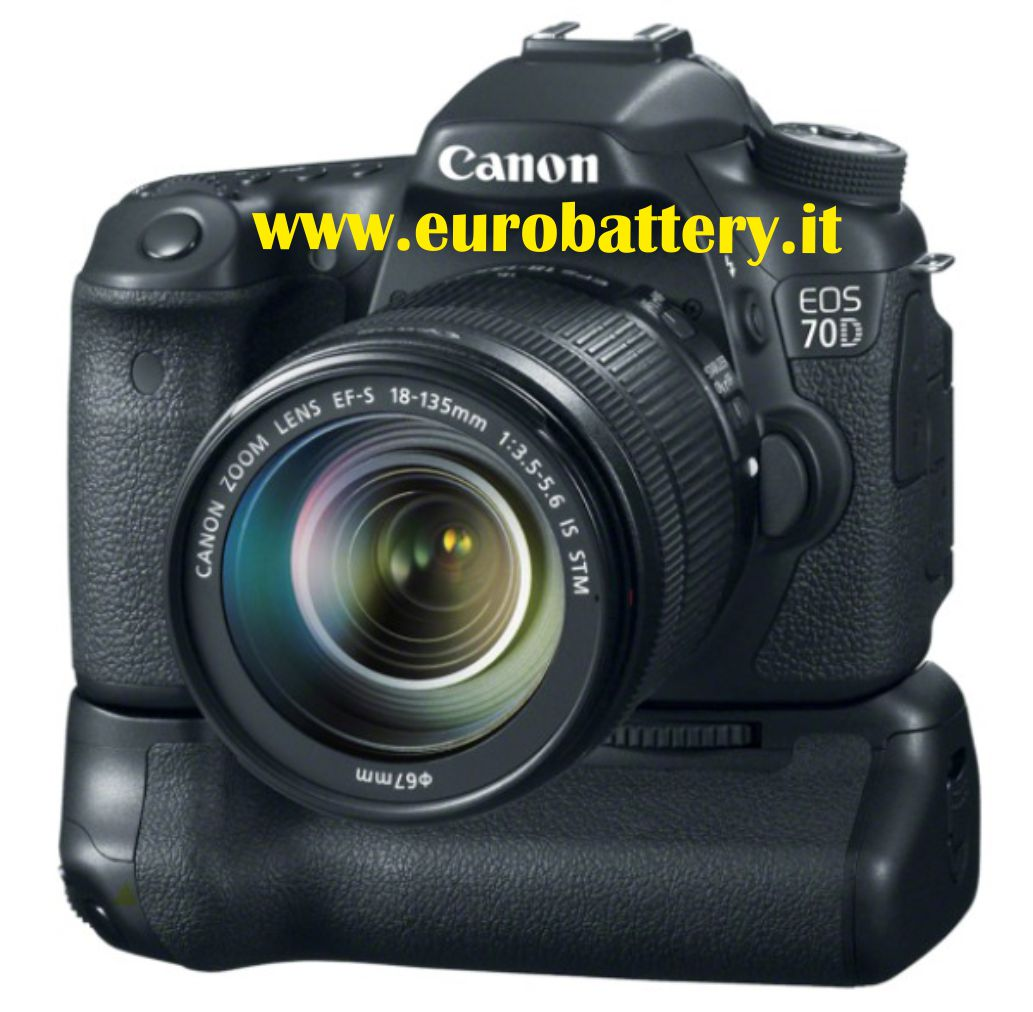 BG-E14 BGE14 CANON EOS 70D + remote BATTERY GRIP BG-1TIR