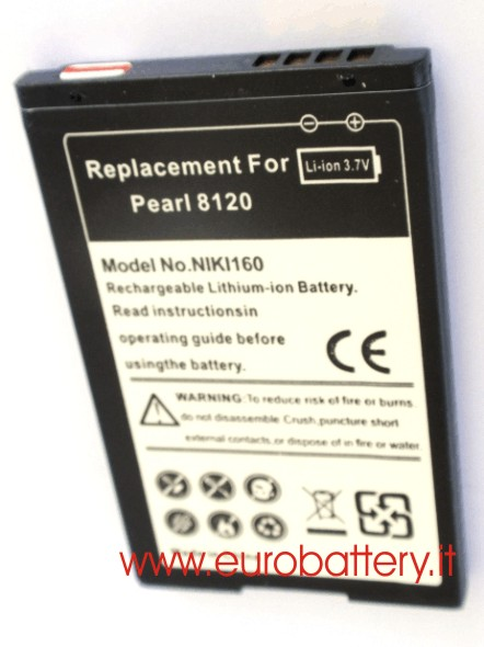 Batteria x BlackBerry C-M2 Pearl 8100 8110 8120 8130