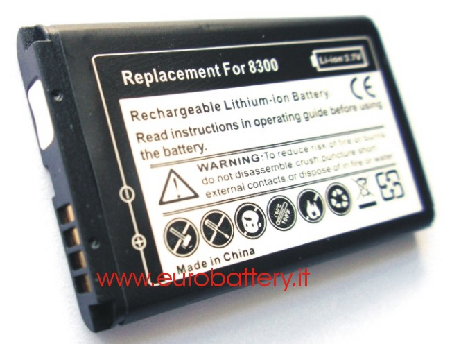 Batteria x BlackBerry C-S2 CS2 8300 8310 8320 8330 7100