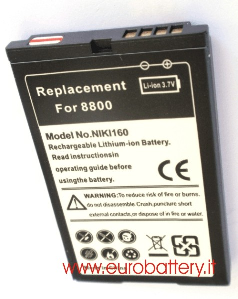 Batteria x BlackBerry C-X2 CX2 8800 8820 8830