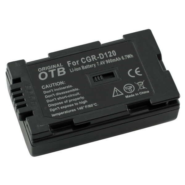 Batteria Panasonic CGR-D08 CGR-D08R CGR-D120 NV-MX1 DS60