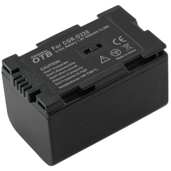 Batteria Panasonic CGR-D16 CGR-D16S CGR-D220 NV-MX1 DS60