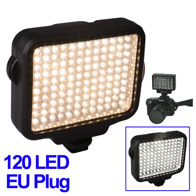 Faro 120 LED HIGH BRITE + batteria N-F550+ charger