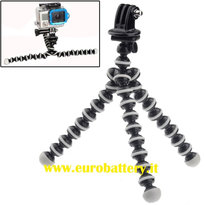 ST-105 Mini Tripod Octopus Treppiedi flex GOPRO HERO 1 2 3 3+