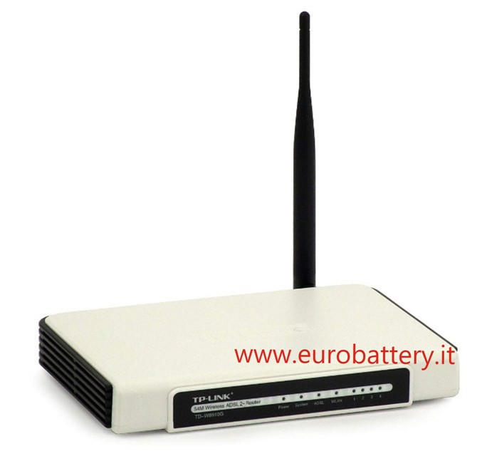 TP-LINK MODEM ROUTER TD-W8901G WIRELESS G ADSL2 + 54M