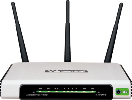 TP-LINK 300M Wireless N Router MIMO TL-WR941N/WR941​ND
