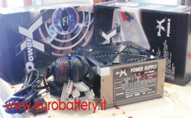 Silent POWER X Alimentatore PC 750W 750 W Fan 12 CM