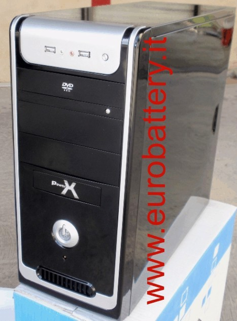 Case ATX Power X 500W NERO BLACK 2 Usb 2 Audio