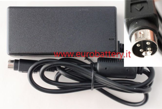 Alimentatore per TV LCD Monitor Display 12V 5A 4 pin 60W